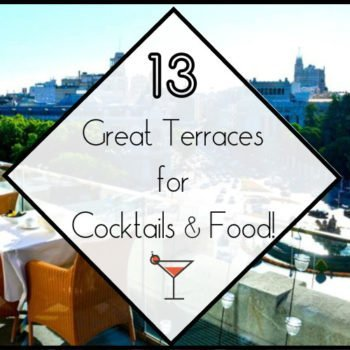 13 great terraces for cocktails food