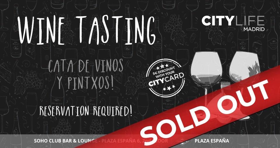Wine Tasting: Cata de Vino y Pintxos