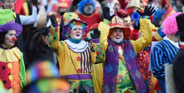 february in madrid carnival