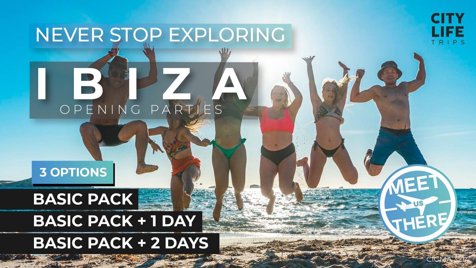 Ibiza - Opening Parties 2020