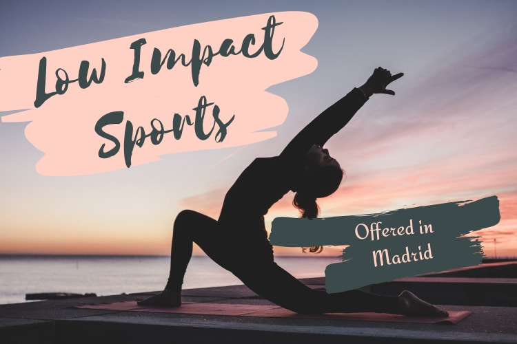 low impact sports madrid