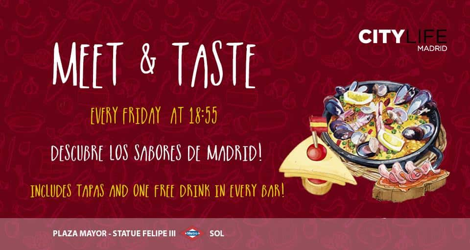 MEET & TASTE - Tapas tour!