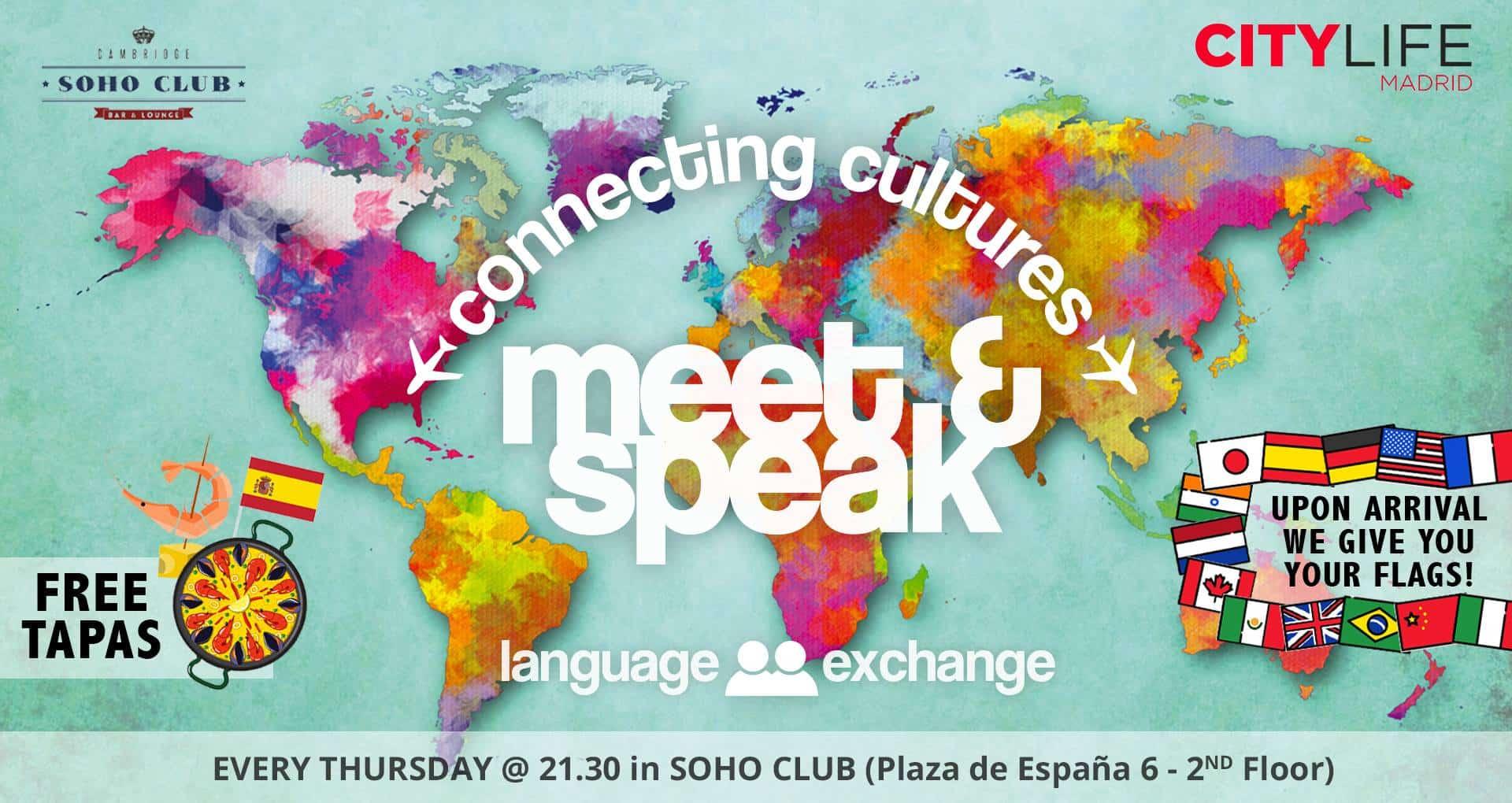 MEET & SPEAK - Connecting Cultures!