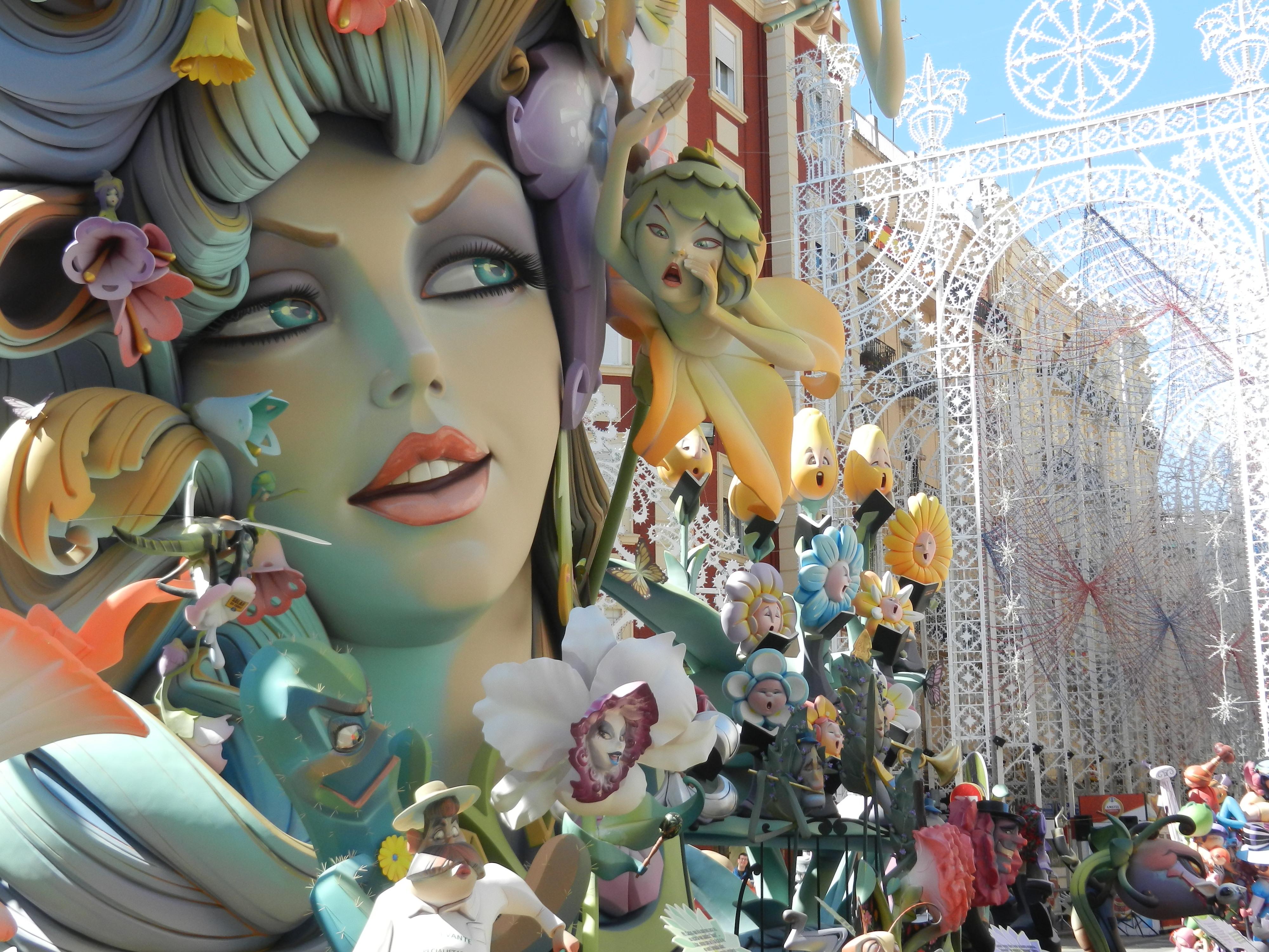 Las Fallas de Valencia Spain  Spanish Traditions  don