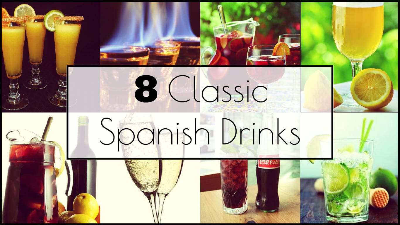 8 classic spanish drinks