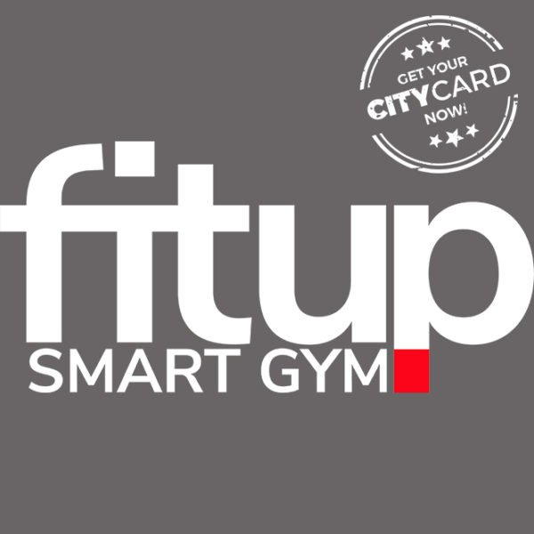 "<span style=""color:red;"">Save registration fee & 10€ per month</span><br />FitUp Gym: Stay in shape for less!"
