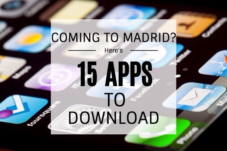 dating apps in madrid