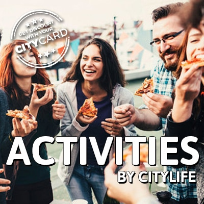 "<span style=""color:red;"">Save 5€ on many Citylife Special Activities</span><br>Activities: Join our activities!"