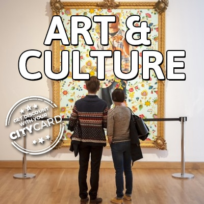 "<span style=""color:red;"">Guaranteed spots with your City Card</span><br />Art & Culture: Enjoy Free Art & Cultural Visits!"