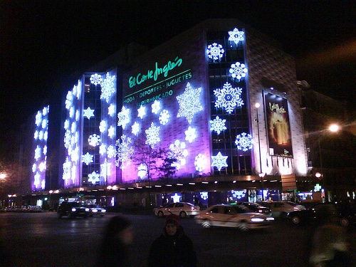 Christmas shopping in madrid citylife madrid for El corte ingles navidad