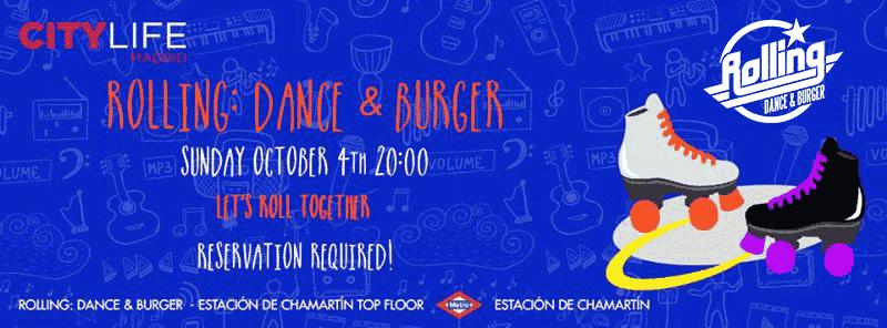 Rolling: Dance & Burger: Indoor Disco Inline Skating for free!