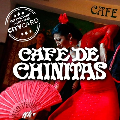 "<span style=""color:red;"">Save 20% on any Flamenco show</span><br />Cafe de Chinitas: The home of Flamenco!"