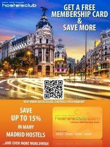 City Life Madrid HostelsClub Graphic