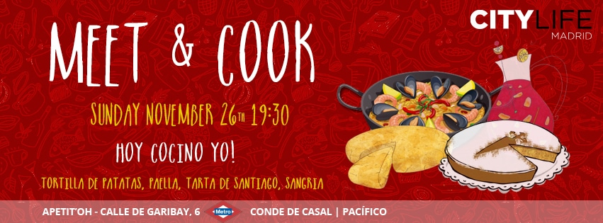 SOLD OUT: MEET & COOK: Hoy cocino yo - Traditional Spanish Dishes & Sangría!