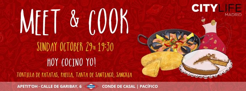 MEET & COOK: Hoy cocino yo - Traditional Spanish Dishes & Sangría!
