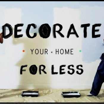 DECORATE FOR LESS COVER