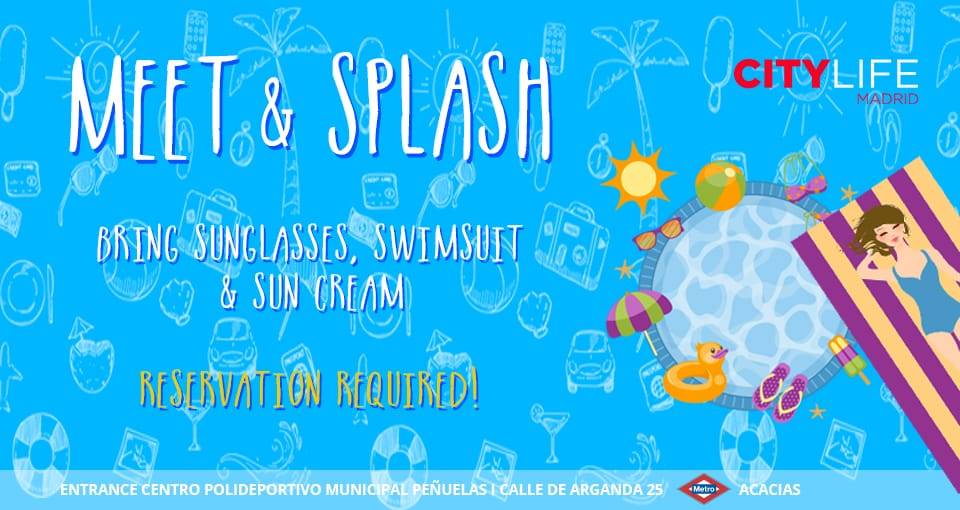 MEET & SPLASH: Time to jump in the pool!