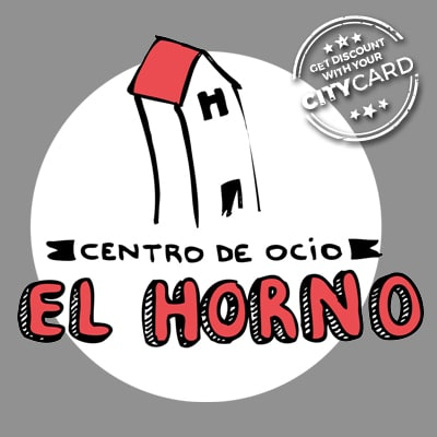 "<span style=""color:red;"">Save inscription fee of 19,50€</span><br />El Horno: Your recreation centre in Madrid!"