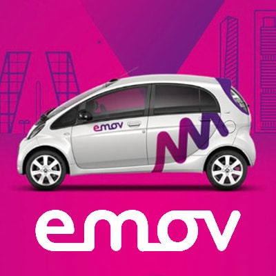 "<span style=""color:red;"">Save 4€ on registration fee & on top get 20min free</span><br />Emov: Car sharing at discount!"