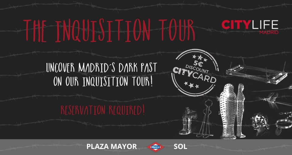 MEET & EXPLORE – SPECIAL EDITION: The Inquisition Tour – Uncover Madrid's dark past!