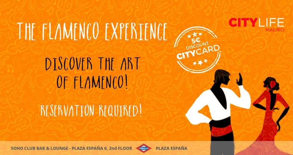 Sold out - THE FLAMENCO EXPERIENCE: Discover the Art of Flamenco!