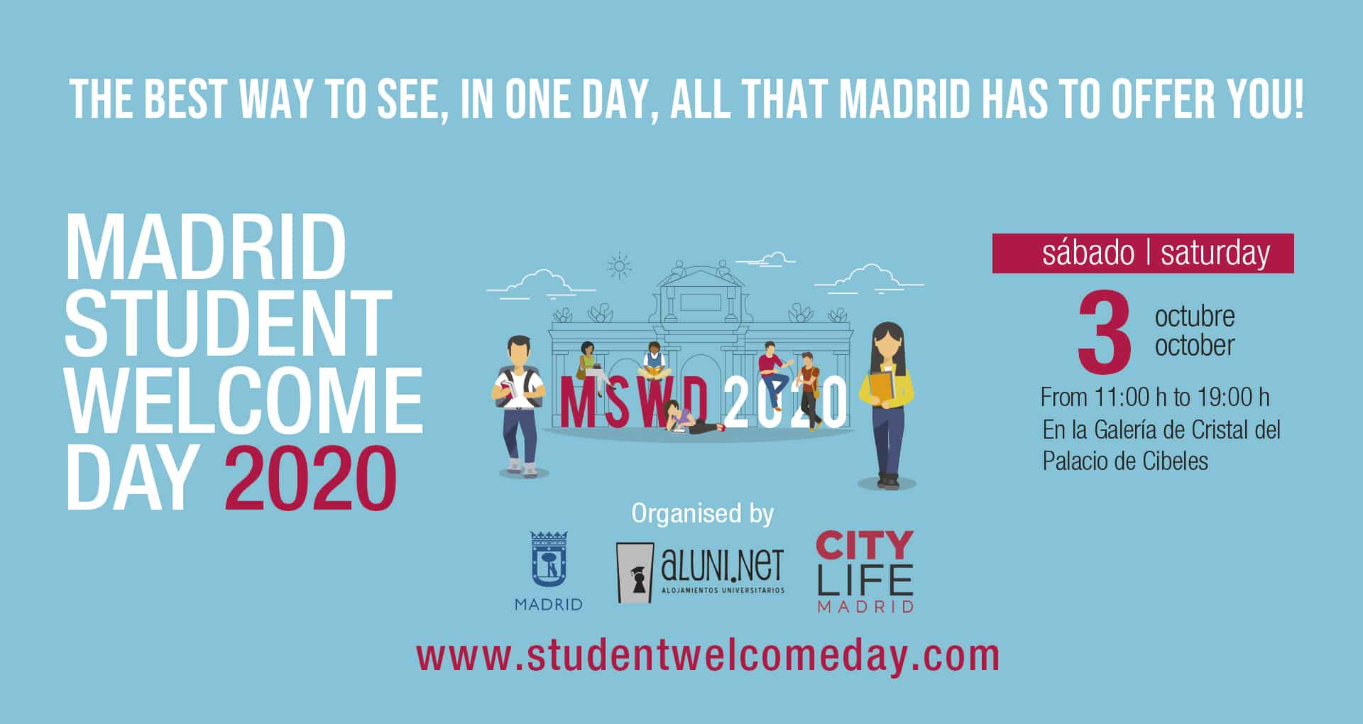 MADRID STUDENT WELCOME DAY 2020