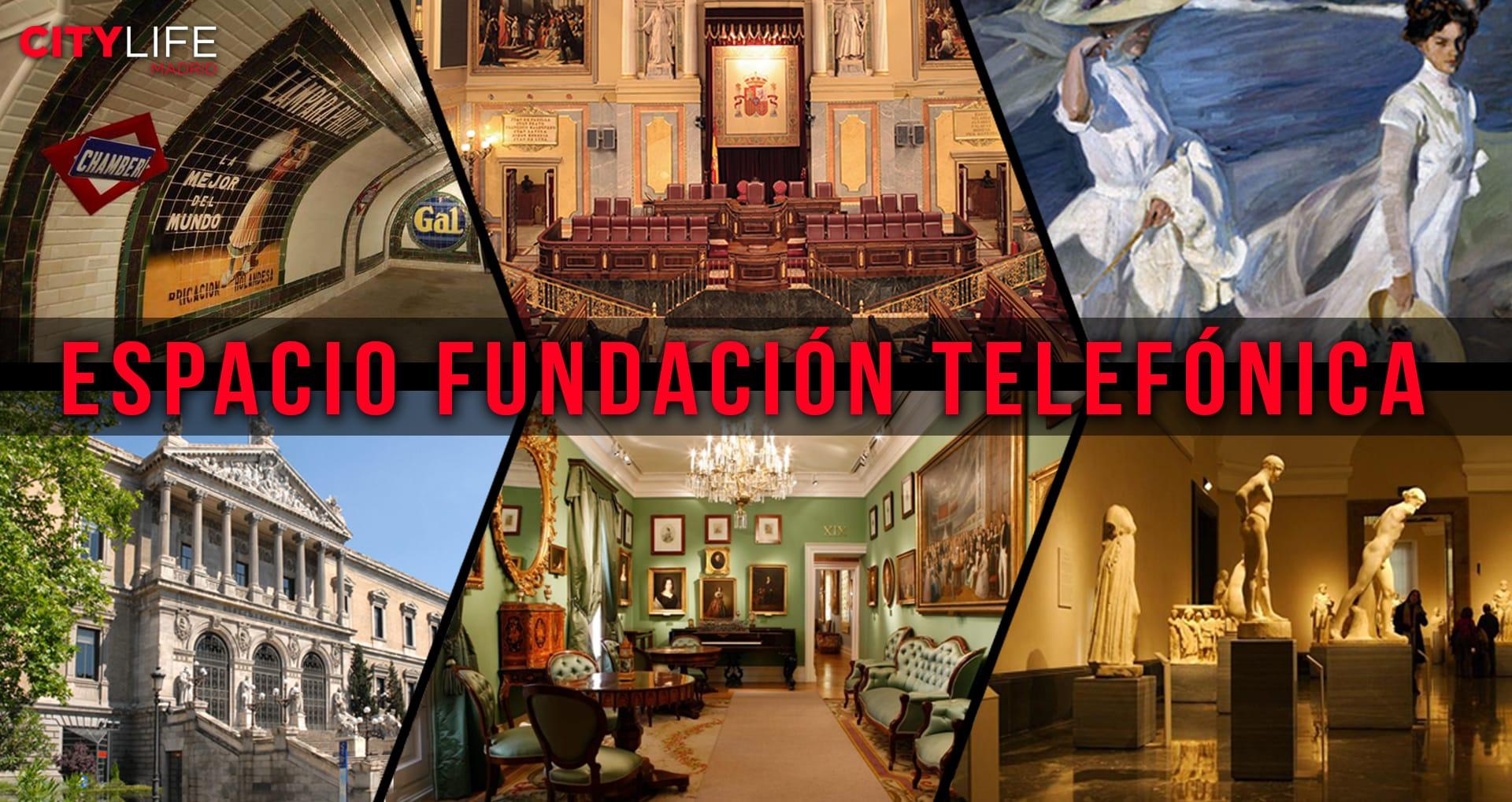 Free Exhibit Tour: Espacio Fundación Telefonica - Historia de las Comunicaciones