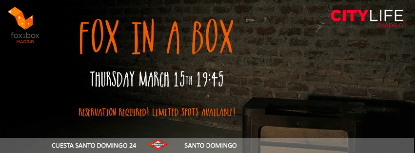 FOX IN A BOX: Escape game!