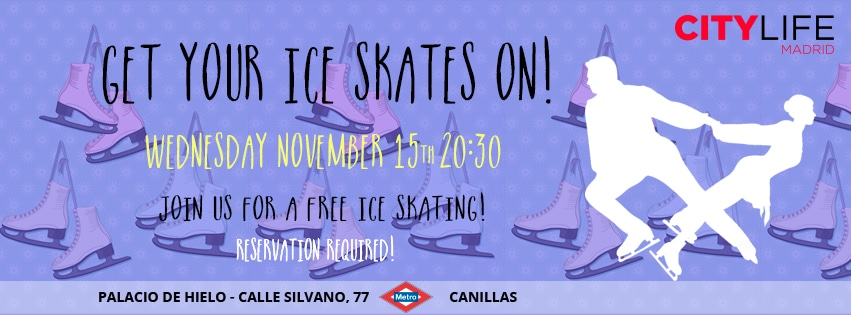 GET YOUR ICE SKATES ON: FREE ICE SKATING!