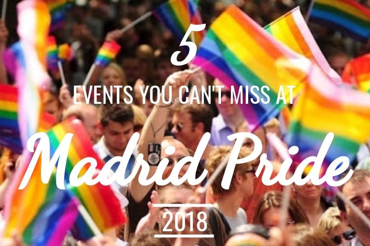 Gay pride dance parties madrid spain think