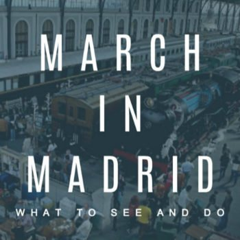 MARCH IN MADRID COVER