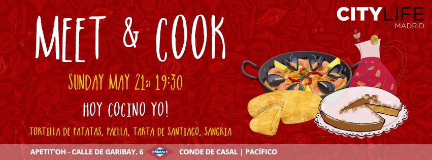 MEET & COOK: Hoy cocino yo - Traditional Spanish Dishes & Sangria!