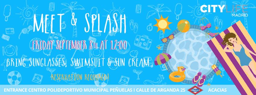 MEET & SPLASH: Time to jump in the pool!