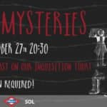 MYTHS AND MYSTERIES 27.10.2016