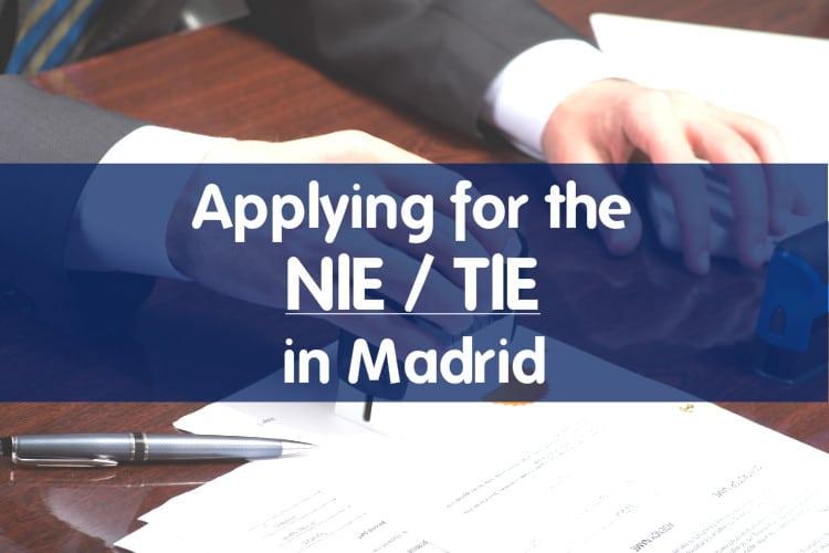 Applying For A Nietie In Madrid Citylife Madrid