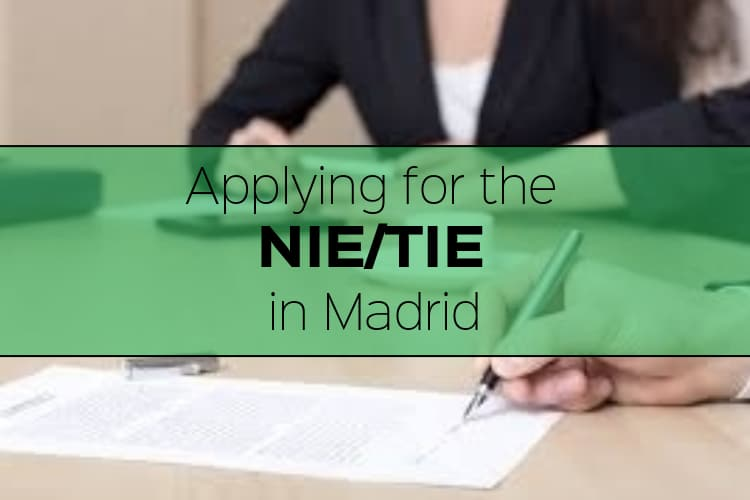 Applying For A Nietie In Madrid Citylife Madrid