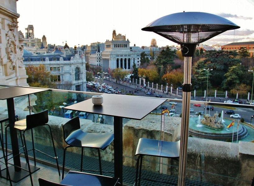 10 amazing rooftop terraces overlooking madrid citylife for Terrazas madrid