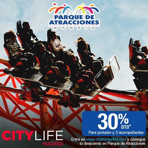"<span style=""color:red;"">Save an amazing 30%</span><br />Parque de Atracciones: Exciting adventures at Madrid's biggest Amusement Park!"