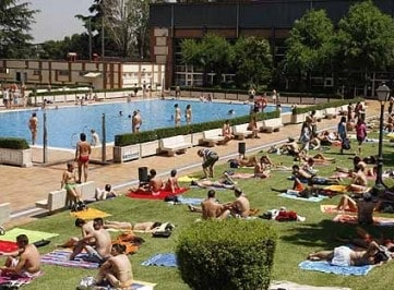 the best pools in madrid