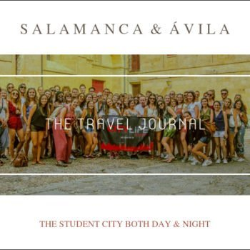 SALAMANCA AVILA TRAVEL JOURNAL COVER