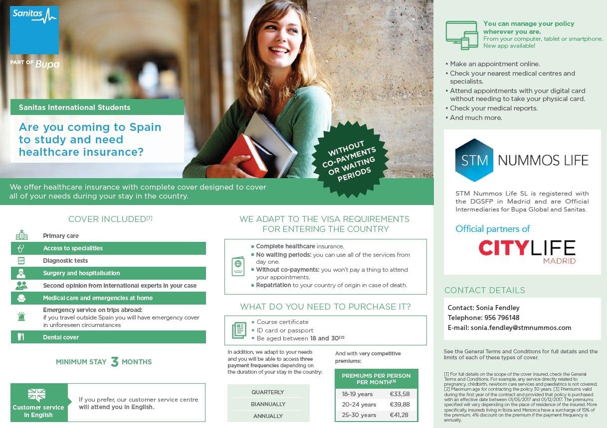 International SOS Insurance Plan - Citylife Madrid