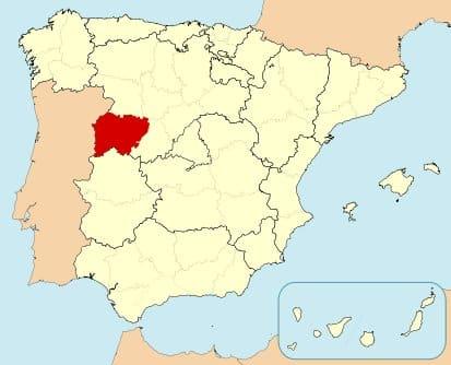 Salamanca Map