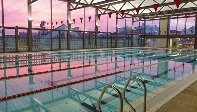 Indoor Swimming In Madrid Citylife Madrid
