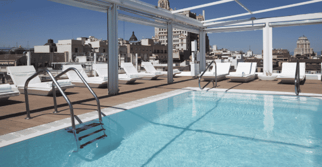 Terrace Pools 4 amazing rooftop pools in madrid's city centre