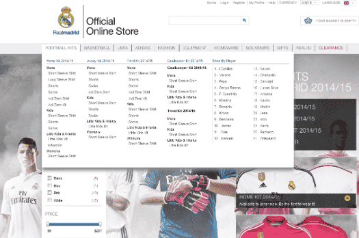 c891c2464 All the Madrid clubs except Rayo Vallecano have online stores too. There  are also some good websites to buy shirts relatively cheaply online such as  Soccer ...