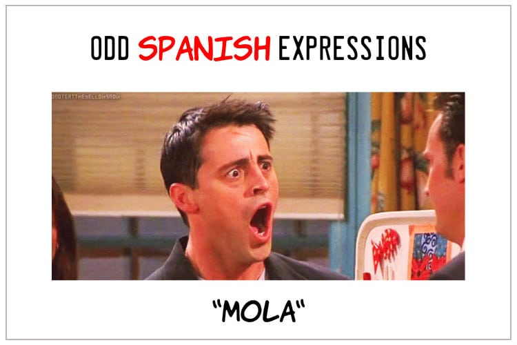 Spanish expressions mola