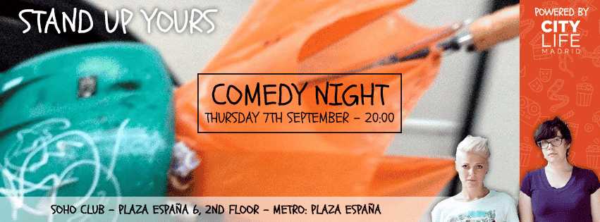 Comedy Night with Stand Up Yours