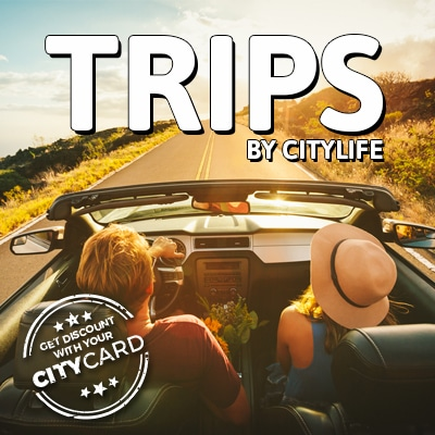 "<span style=""color:red;"">Save up to 10€ on all Citylife Trips</span><br>Trips: Travel with us!"