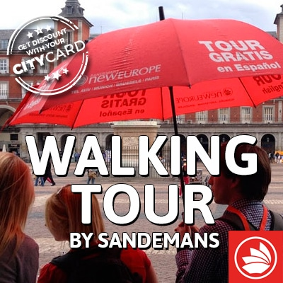 "<span style=""color:red;"">Save 10% on the Majestic & Inquisition tours</span><br />Sandeman's New Europe: Exploring Madrid!"