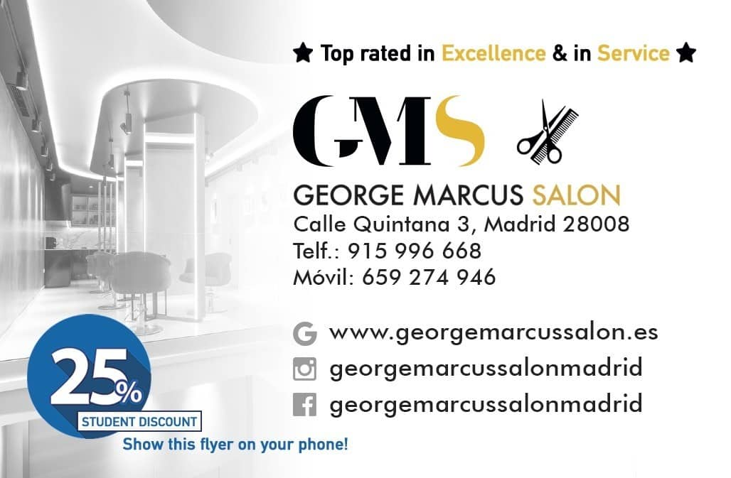 George Marcus Salon - Affordable high end stylists in Madrid